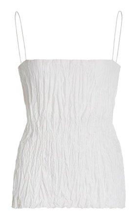 Crinkled Silk Top By Toteme | Moda Operandi