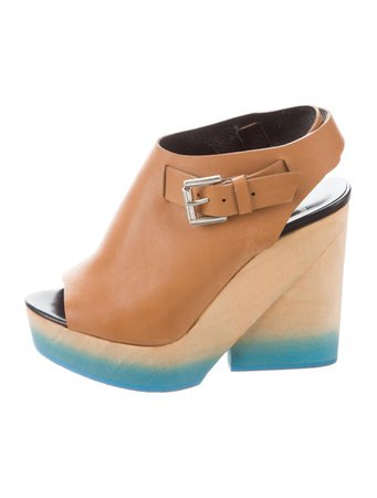 Pierre Hardy Leather Platform Sandals - Shoes - PIE26555 | The RealReal
