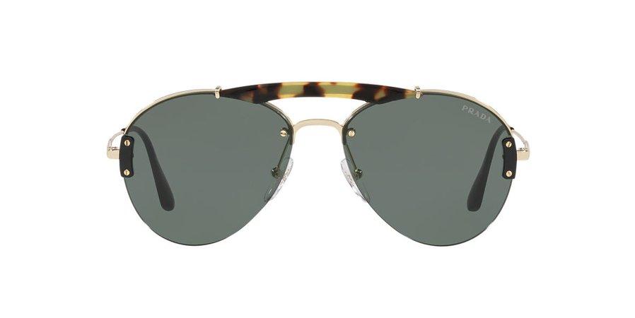 Prada PR62US 01 Green & Tortoise Sunglasses | Sunglass Hut USA