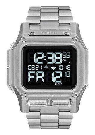 Regulus Stainless Steel Watch | Black | Stainless Steel | Men's | Nixon US