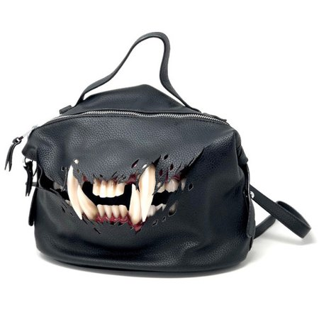"tokyo-fashion: New ""Cat Fangs"" handbag by female... -"