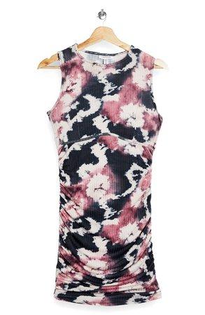 Topshop Tie Dye Sleeveless Minidress | Nordstrom