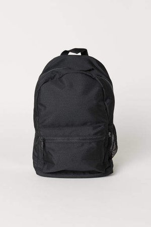 Backpack with Laptop Sleeve - Black