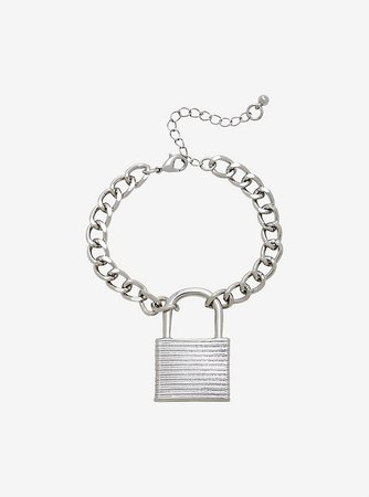 Padlock Chain Bracelet