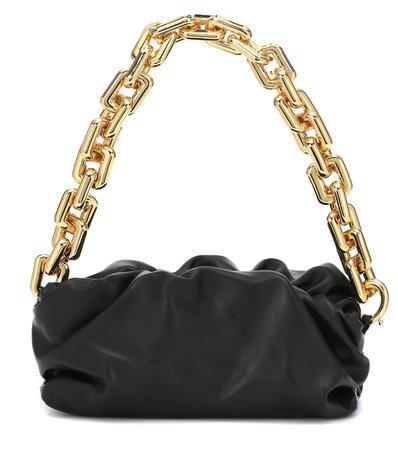 The Chain Pouch Leather Shoulder Bag - Bottega Veneta | Mytheresa