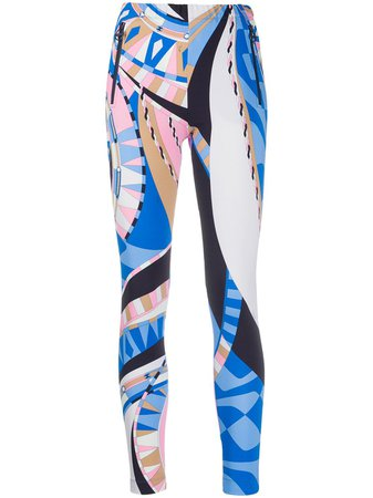 Emilio Pucci abstract-print Leggings - Farfetch