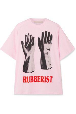 Christopher Kane | Printed cotton-jersey T-shirt | NET-A-PORTER.COM