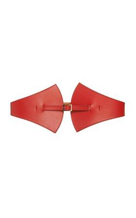 Maison Vaincourt Leather Waist Belt Size: 70 cm