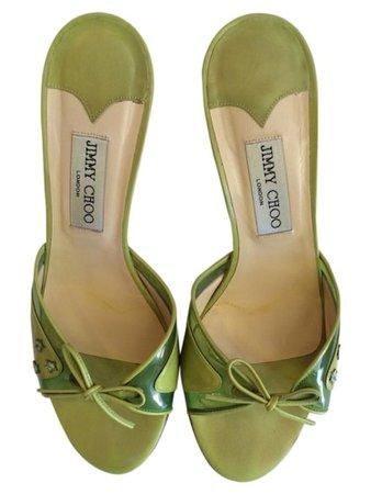 jimmy choo kitten heels w star details