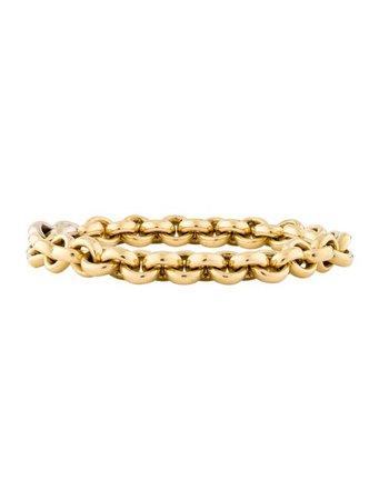 Pomellato 18K Link Bracelet - Bracelets - POM22027   The RealReal