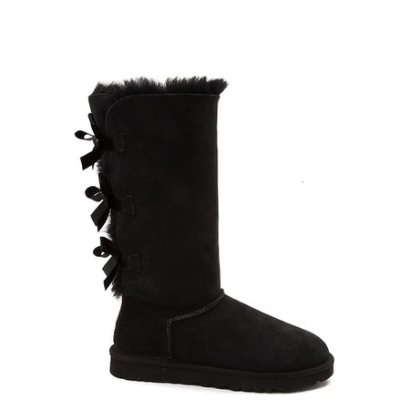 Womens UGG® Bailey Bow II Tall Boot - Black | Journeys