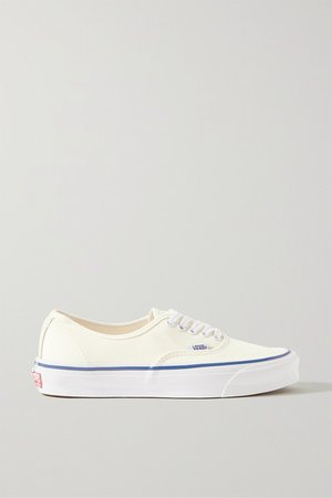 Vans   OG Classics Authentic LX canvas sneakers   NET-A-PORTER.COM