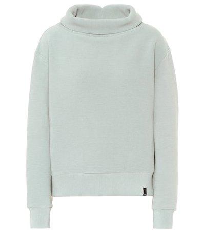 Simon cotton-blend sweatshirt