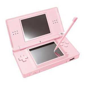 Light Pink Nintendo DS Lite