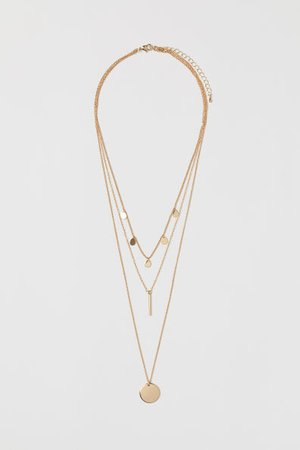 Necklaces For Women | Crosses, Chokers & More | H&M US
