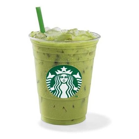 Iced Green Tea Latte ❤ liked on Polyvore featuring food, fillers, starbucks, drinks and food and drink