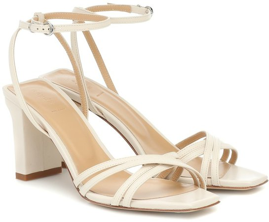Annabella leather sandals