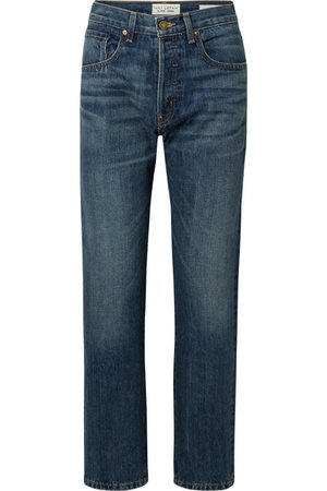 Nili Lotan | Archer high-rise straight-leg jeans | NET-A-PORTER.COM