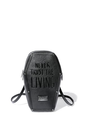 Never Trust - Coffin Backpack – Blackcraft Cult
