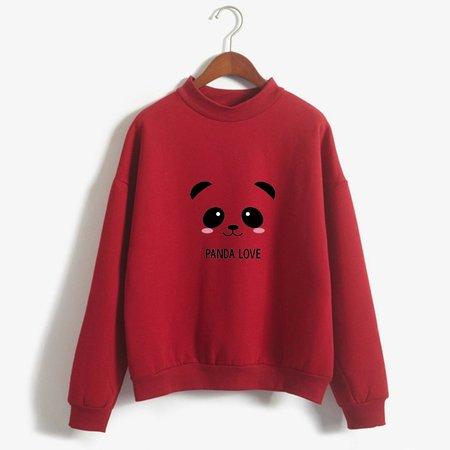 Kpop Hoodies Spring Autumn Kawaii Panda Printed Harajuku Blackpink Sweatshirt Women Korean Hoodies Moletom Feminino-in Hoodies & Sweatshirts from Women's Clothing on Aliexpress.com | Alibaba Group