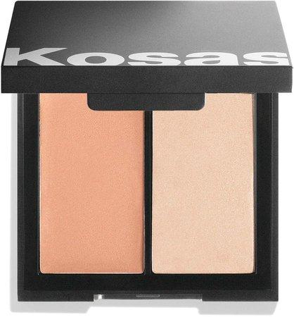 Color & Light Cream Blush & Highlighter Palette