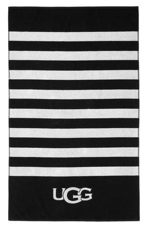 UGG® Cabana Logo Beach Towel | Nordstrom