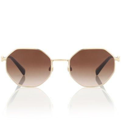 Vlogo Hexagonal Sunglasses | Valentino - Mytheresa