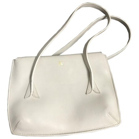 J leather handbag Rouje White in Leather - 9582834