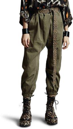Drop Crotch Utility Pants