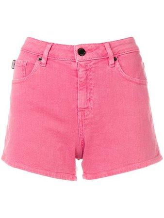 Love Moschino short denim shorts