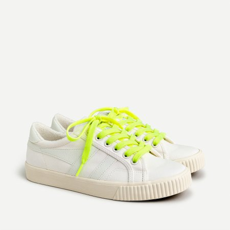 white J.Crew: Gola® X J.Crew Mark Cox Tennis Sneakers For Women