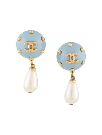Chanel Vintage CC earrings $968 - Buy Online - Mobile Friendly, Fast Delivery, Price