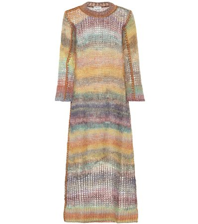 Losse mohair and alpaca-blend dress