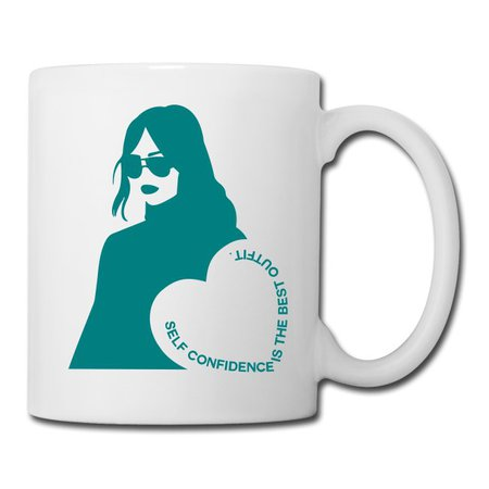 ShopLook | Self Confidence is the Best Outfit - CoffeeTea Mug