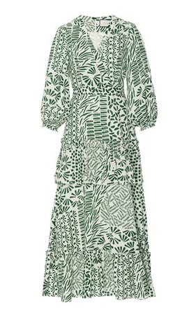 Bonita Bow-Detailed Crochet-Knit Cotton Lace Dress by Zimmermann | Moda Operandi