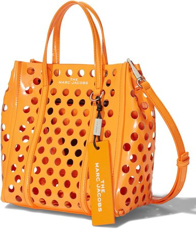 The Tag 21 Perforated Leather Tote