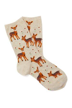 Hot Sox Deer Socks | Charming Charlie