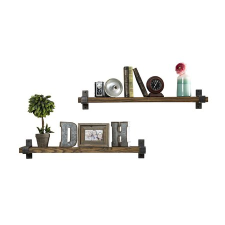 Three Posts Treyvon Industrial Grace Wall Shelf & Reviews | Wayfair.ca