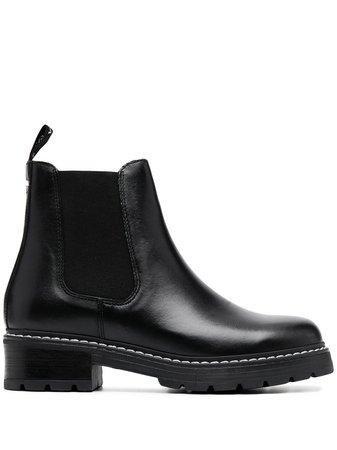 Carvela Contrasting Stitch Ankle Boots - Farfetch