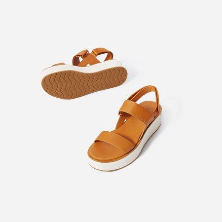Women's Leather Platform Sandal   Everlane