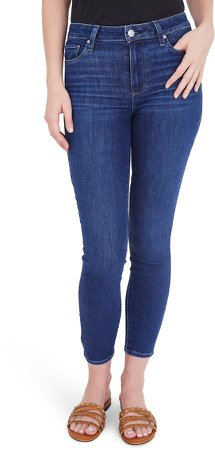 Hoxton Crop Skinny Jeans