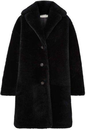 Shearling Coat - Blue