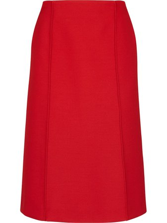 Fendi Straight Midi Skirt - Farfetch