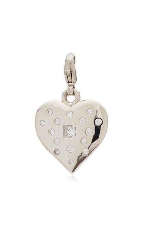Nancy Newberg Puffy Heart Charm