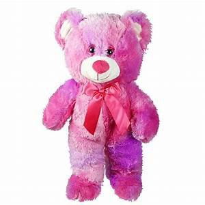 tie dye teddy bear