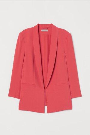Saco de corte recto - Rojo coral - Ladies | H&M MX