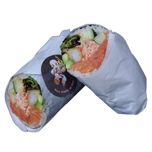 *clipped by @luci-her* Loco Sushi Burrito | Rice Balls of Fire
