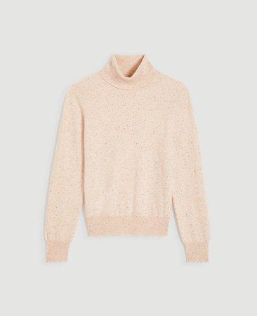 Cashmere Turtleneck Sweater | Ann Taylor
