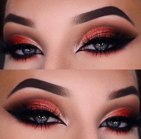 "Júlia sur Instagram : [advertisement/Werbung] Sultry fall look 🍁 Brows: @morphebrushes brow Pomade ""chocolate mousse"" Eyes: @anastasiabeverlyhills @norvina…"