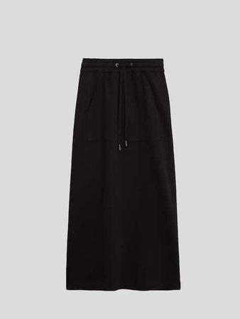 Φούστα με τσέπη καγκουρό - Mulher - Massimo Dutti